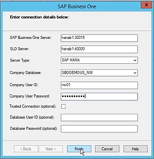 SAP Crystal Reports Form