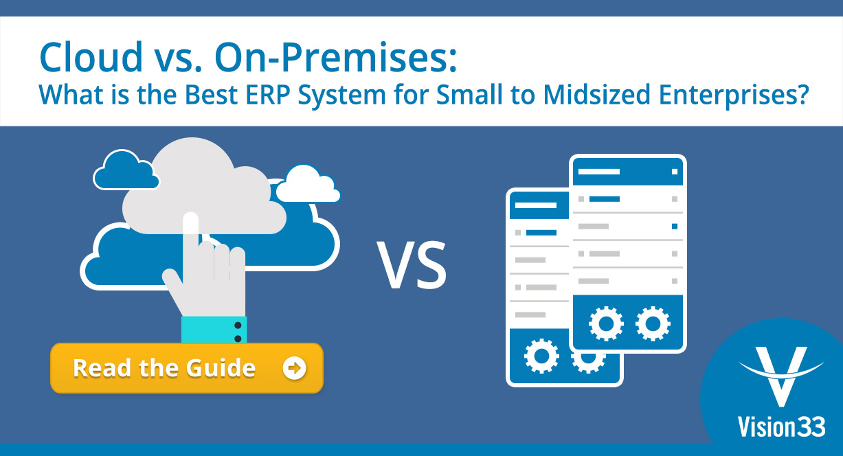 Cloud vs. On-Premise: What is the Best ERP System for Small to Midsized Enterprises