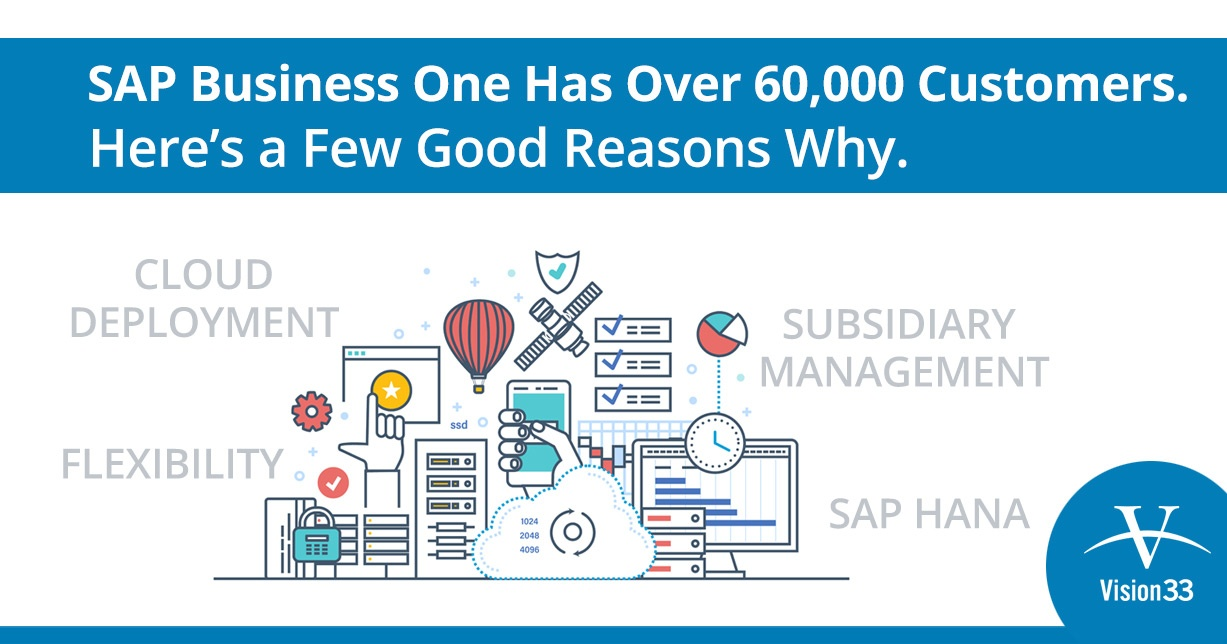 SAP Business One Has Over 60,000 Customers. Here's are Reasons Why