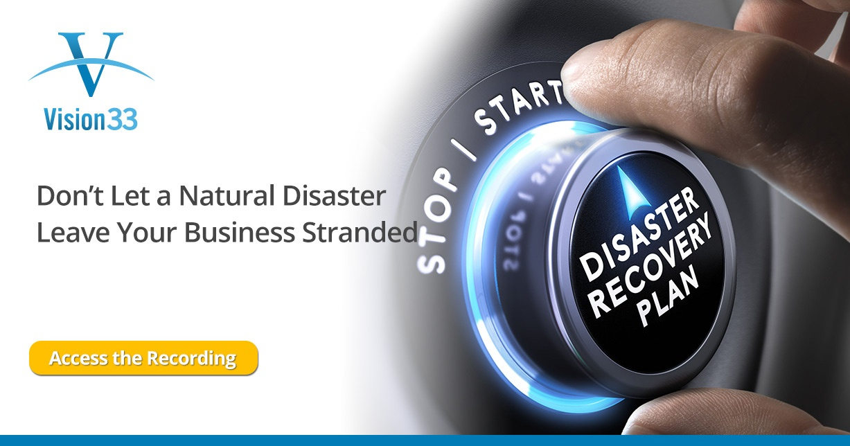 Don't Let a Natural Disaster Leave Your Business Stranded