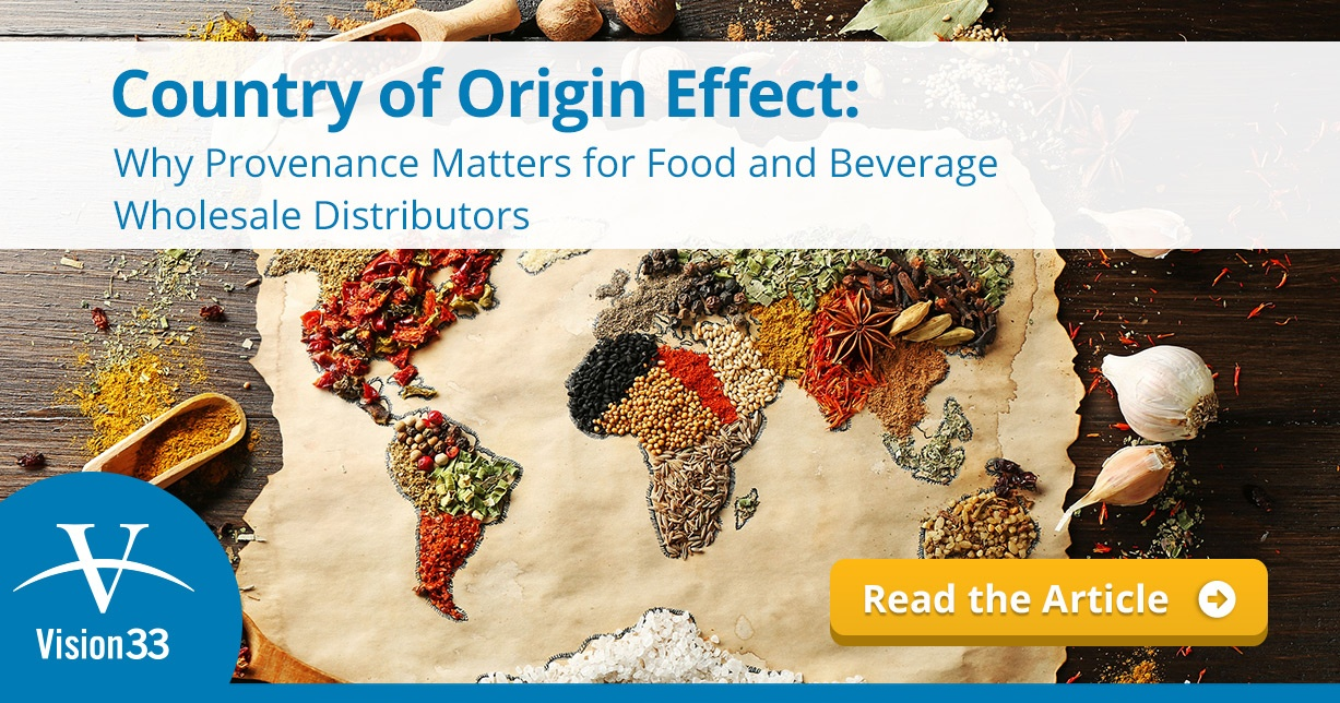 Country of Origin Effect: Why Provenance Matters for Food and Beverage Wholesale distributors