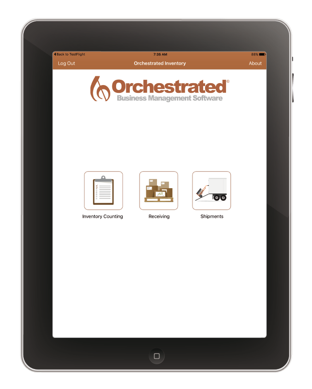 OrchestratedBeerBrewery Inventory App