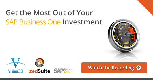 Get the Most Out of Your SAP Business One Investment